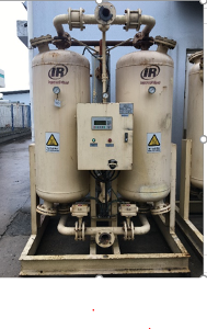 INGERSOLL RAND heat reactivated regenerative air dryers